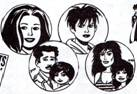Love and Rockets pin buttons