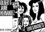 Love & Rockets 10th anniversary tour poster